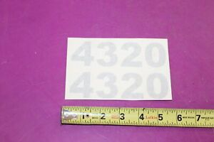 Nos Montana 4320 Tractor Decals Acquired From A Closed Dealership See Pic