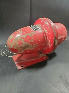 Federal Signal Corporation Siren Electric Motor Operated Model Wgw