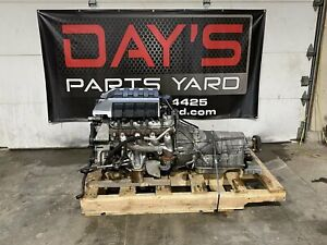 2015 Chevy Camaro Ss Engine Transmission Complete Pullout Liftout Drivetrain L99