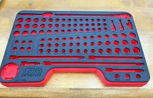 Snap On Tools New Foam Tray Only For 1 4 Drive Shallow Deep 100yr Fmgss04brx