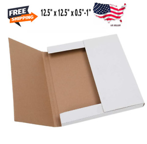 100 12 5 x12 5 Lp Record Album Book Box Catalog Mailers Boxes Variable Depth