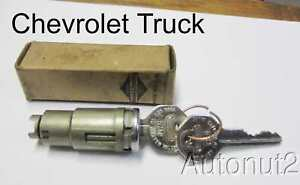 Chevrolet Truck Locking Door Handle Cylinder 1935 1936 1937 1938 1939 1940 1941