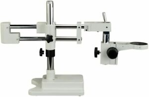 Omax Dual bar Boom Stand With Focusing Rack 76mm For Stereo Microscopes A602