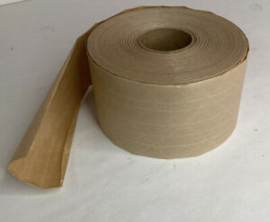 3 Inch Reinfoced Gum Tape Partial Roll Brown