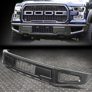 For 15 18 Ford F150 Raptor Style Steel Front Lower Bumper Face Bar W Mesh Grille