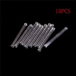 10pcs 100 Mm Pyrex Glass Blowing Tubes 4 Inch Long Thick Wall Test Tube Oi