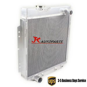 3row Aluminum Radiator For 1961 1962 1965 Ford Econoline Falcon Mercury Comet V8