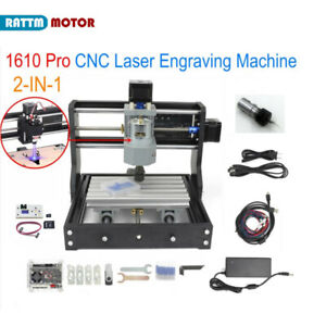 us grbl 1610 Pro 3 Axis Cnc Mini Diy Engraving Milling Router Machine Er11