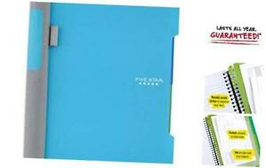 Advance Small Spiral Notebook 2 Subject College Ruled Paper 100 Teal