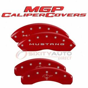 Mgp Caliper Covers Disc Brake Caliper Cover For 2015 2020 Ford Mustang Fo