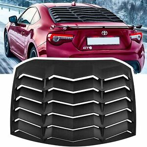 Rear Window Louver Sun Shade Cover For Subaru Brz Scion Fr S Toyota Gt86 13 20