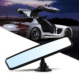 Universal Car Suction Cup Rearview Mirror Wide Angle Panoramic Rear View Mirror