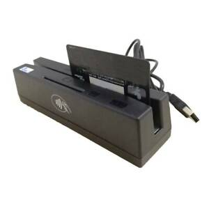 4 in 1 Magnetic Stripe Credit Card Ic Chip Reader Rfid Psam Nfc Writer Yl160