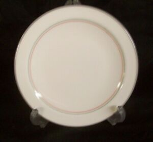 Restaurant Supplies 10 Corning Ware Pyroceram Plates 7 1 8 White With Gray Bl