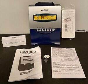 Acroprint Es1000 Electronic Payroll Recorder Time Stamp Clock Ribbon And Cards