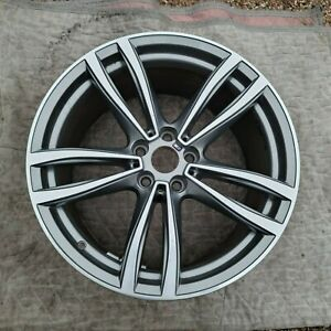 Bmw 7 Series One single Replacement Oem Genuine Style 647 M 19 Rear Wheel