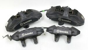 2017 Ford Mustang Gt350 Brembo Front Rear Brake Caliper Set Used Oem
