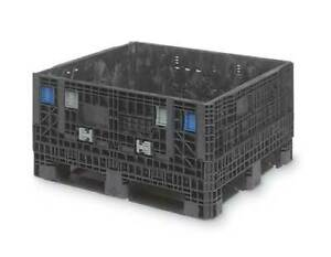 Orbis Gp4048 34 Collapsible Container 48 In L 40 In W bl