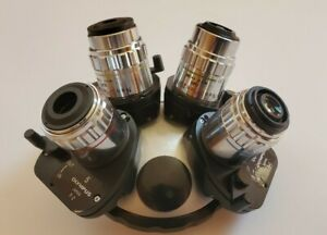 Olympus Bhs Nomarski Dic Microscope Nosepiece With Neo S Plan Nic Objectives