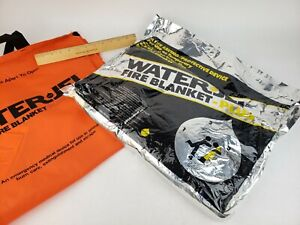Waterjel Fire Blanket Plus P7260 1 Trilling Medical 6 X 5 60 X 72 Safety