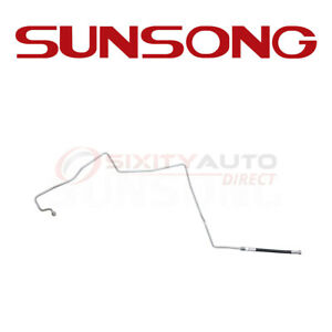 Sunsong Auto Trans Oil Cooler Hose Assembly For 1997 2001 Dodge Ram 3500 In