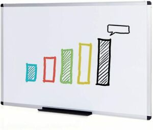 Dry Erase Board whiteboard Non magnetic 48 X 36 Inches Wall Mounted Board