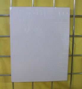 Store Display Fixtures New Acrylic Gridwire Sign Holder 8 W X 11 H