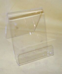 Store Display Fixtures 2 New 3 w X 4 h With 1 Opening Acrylic Display Easel