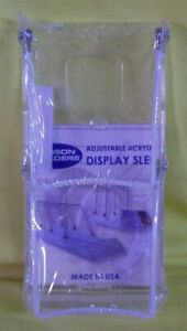 Store Display Fixtures New Display Sled Easel 2 Tier 8