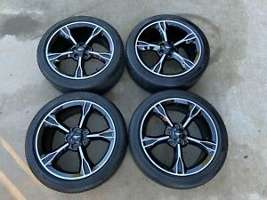 2016 17 Ford Mustang Gt Cs Oem Wheels And Tires Set