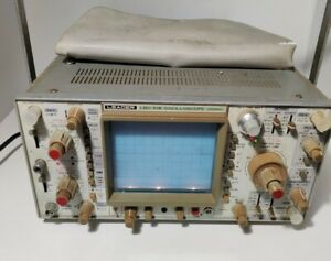 Leader Lbo 518 Oscilloscope 100mhz 4 Channel turns On
