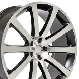 22 X9 Inch Wheel Rim For Dodge Charger 2006 2015 2016 2017 2018 2019 2020 2021