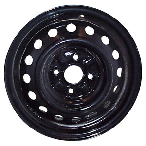 69391 Reconditioned Factory Oem Steel Wheel 14 X 5 5 Black Full Painted