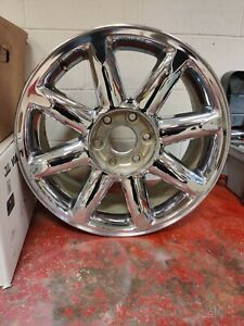 20 07 14 Gmc Yukon Denali Sierra Factory Chrome Wheel Rim Oem Free Shipping
