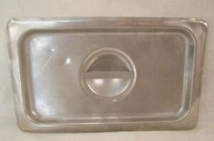 Restaurant Supplies 2 Stainless Steel Steam Table Food Pan Lids 1 4th Fourth