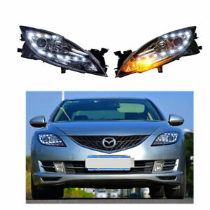 Headlight Assembly For Mazda 6 Atenza 2009 2013 Hid Xenon Beam Projector Led Drl