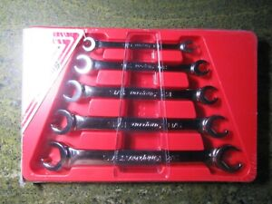 Snap On 5 Piece Sae Flare Nut Wrench Set Condition New