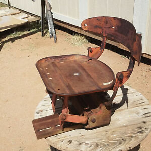 Massey Ferguson 175 Tractor Float O Matic Deluxe Seat No Cushions