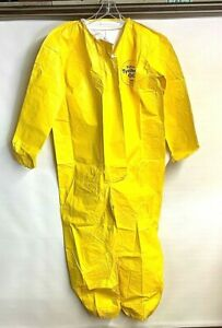 New Dupont Tychem Qc Pack Of 12 Coveralls Size Large