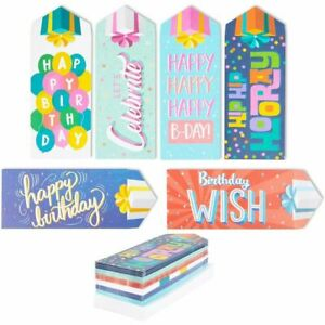 Happy Birthday Gift Envelopes For Cash Coins Money 36 Pack