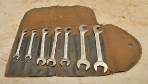Antique Williams Snap On Owned Early Superench Ignition Wrench Set Super Lot
