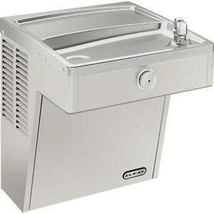 Elkay Vrc8s 7 8 Gph Wall Mounted Single Drinking Fountain Stainless Steel