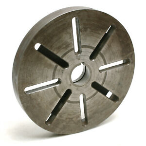 16 T slotted Lathe Face Plate L0 Long Taper Mount 4 1 2 6 Thread