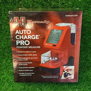 Hornady Auto Charge Pro Powder Measurer Precise Backlit Red Black 050053 $356.41