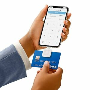 Square Mobile Credit Card Magstripe Reader Lightning Connector For Iphone Device