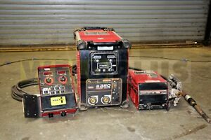 Lincoln Power Wave 350 Welding Package