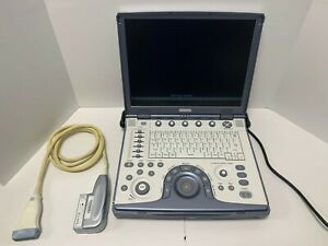 Ge Logiq E Portable Ultrasound Machine System With 12l rs