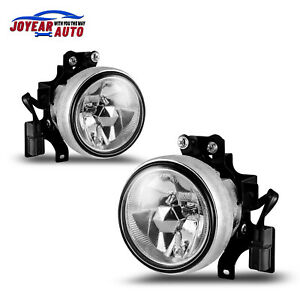 Fog Lights For 2003 2006 Honda Element Car Bumper Replacement Lamp Wires Switch