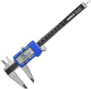 8 Electronic Digital Caliper Extra Large Display Inches Fractions Millimeters