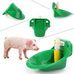17cm Automatic Water Drinking Bowl Fit Pig Goat Sheep Piglet Livestock Plastic